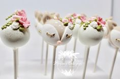 """"""" I have loved her my little wonderer , with a mind full of wild forests and eyes that await adventure."""" #ohdeer #fawnparty #cakepops…"""