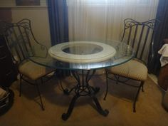 Wrought Iron Table and Chairs - VarageSale Sarnia