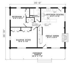 Free House Plans Under 1000 Sq Ft