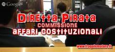 FragoleMature.it: Diretta pirata: Commissione Affari Costituzionali