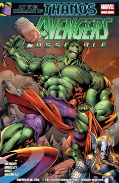 Avengers Assemble #4  The secret of the Zodiac is finally revealed! Thanos makes his grand return! What impact will this revelation have on the Avengers, and what cosmic threats does the Mad Titan have in store for Earth's Mightiest Heroes?