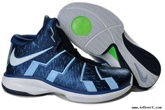Discount Nike Zoom Lebron 10.8 Shoes-Royal Blue White and Green