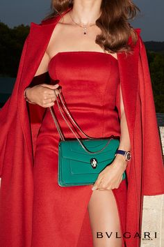 Satchel, Crossbody Bag, Christmas Feeling, Bvlgari Bags, Perfect Christmas Gifts, Inspirational Gifts, Emerald Green, Timeless Design, Women's Accessories