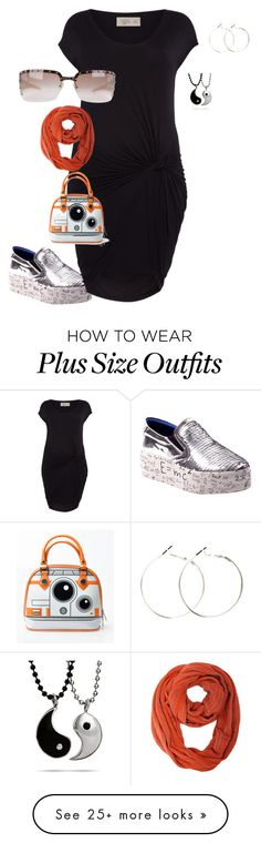 """plus size feeling funky"" by kristie-payne on Polyvore featuring Label Lab and Gianfranco Ferré"