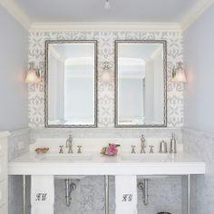 Schoolhouse 3 Light Sconce Bath Design Ideas, Pictures, Remodel and Decor
