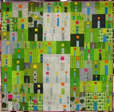 i Quilt by Kathy York.  Best in Show, QuiltCon 2015.  Photo by Kristin Shields.