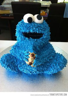 If someone ever gave me a cake like this...I'd go crazy!! Most adorable cake I have ever seen!