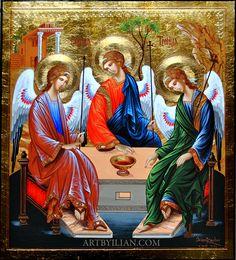 Trinity. #icon #orthodoxicon #orthodox