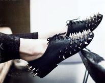 841606f070 Zapatillas, Botas, Sandalias, Zapatos Bonitos, Zapatos De Moda, Tachas,