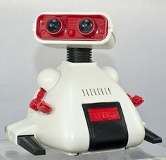 Dingbot, by Tomy - 1980s. The best small robot on planet Earth!