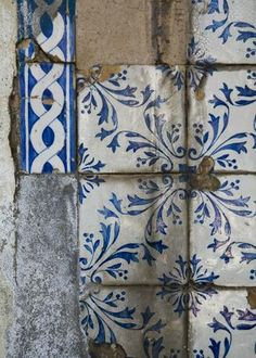 Tiles. Old.