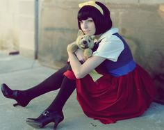Anne Marie -- All Dogs Go to Heaven cosplay