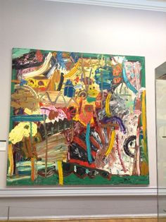 Gillian Ayres at the Walker gallery in Liverpool