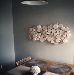 Wall art from urban+forest