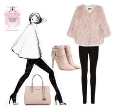 """""""#glam"""" by iullia-mdiaconescu on Polyvore featuring Oasis, Pam & Gela, Valentino, Michael Kors and Victoria's Secret"""