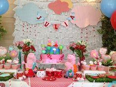 Festa Peppa Pig   Uma seleção para se inspirarem   Coisas da My [ Cat: festas aniversario  ]