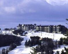 ski resort in Snowshoe, WV