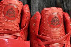 """Red October"" Nike Air Yeezy 1 Customs | By JBF Customs"