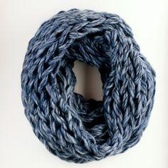 flax & twine | cozy arm knit cowl
