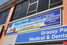 Signage commission for our client Pain Free Dental