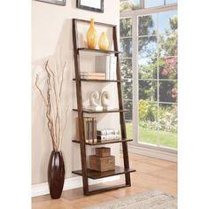 "Riverside Furniture Lean Living 72"" Ladder Bookcase & Reviews | Wayfair"
