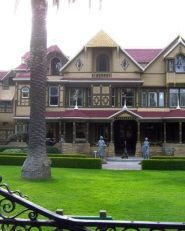 Discover the eccentric mansion known as the Winchester Mystery House in San Jose, California #Travel #Mystery #SiliconValley #CaliforniaTravel