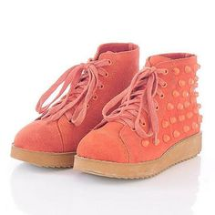 Smoothie pink sneakers!