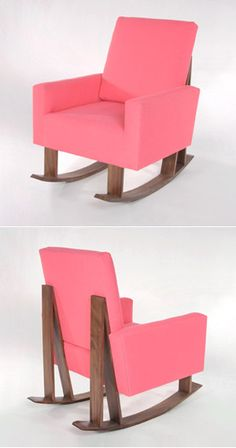 ducduc eddy rocker. This is basically my dream chair. A comfy loungey chair + rocking chair = perfection<3