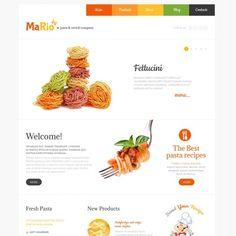 Motyw WordPress #48303 na temat: restauracja włoska Mały zrzut ekranu