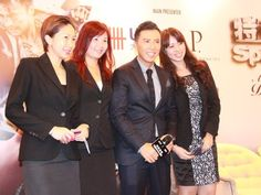 """Special ID"" Press Conference and sharing session. Donnie Yen and his lady fans."