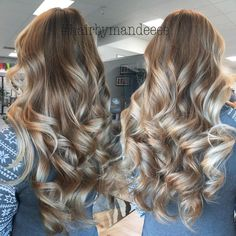 I can't get over that blend  #proud #balayage #hairbymandeeee #cilantrohairspa #modernsalon #behindthechair #hairbrained #handpainted #allaboutdahair #ashyhair #redkencolor #flashlift #ombre #colormelt