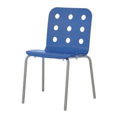 JULES Bezoekersstoel IKEA De stoelen zijn stapelbaar en ruimtebesparend als ze niet worden gebruikt.