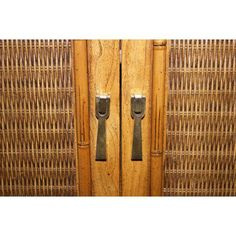 Delightful Image Of Mid Century Faux Bamboo Armoire By Lane Furniture Design Ideas
