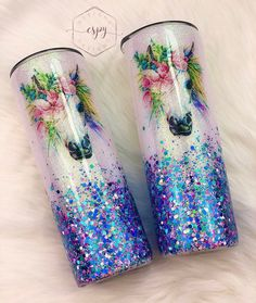 Excited to share this item from my #etsy shop: Unicorn/tumbler/watercolor/glitter tumbler/personalized/gift for her/glitter dipped Glitter Tumblr, Personalized Gifts For Her, Friends In Love, Tumbler, I Am Awesome, Handmade, Epoxy, Unicorns, Glitters