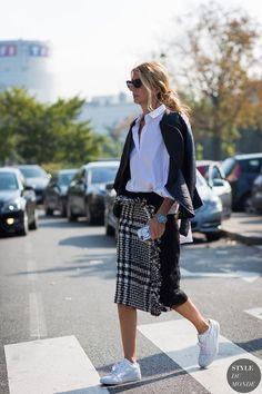 Sarah Rutson Street Style Street Fashion Streetsnaps by STYLEDUMONDE Street Style Fashion Photography