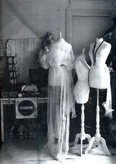 Martin Margiela's studio photographed by Ronald Stoops, from High Fashion Magazine 10 October 1998