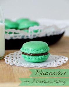 Macarons mit Milka-Oreo-Füllung