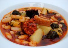 Asopaipas. Recetas de Cocina Casera .: Pote Asturiano