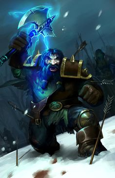 Fighting Dwarf by *William19
