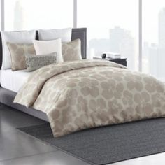 Simply Vera Vera Wang Floral Impression Duvet Cover Collection/