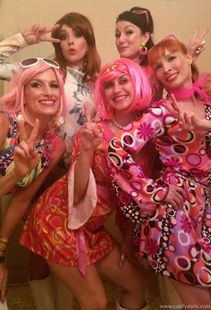 go go dancers by Catalyst Arts Character Costumes, Dancers, Entertaining, Inspiration, Image, Art, Fashion, 1970s, Biblical Inspiration