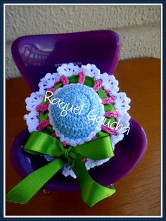#Anne #Cléa5 #Crochet #Chapéu #Dress #Sombrero #Barbie #Muñeca #Doll #RaquelGaucha