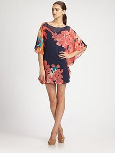 Trina Turk. Silk Dress