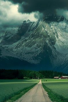 Summer Storm, The Alps, France. I love storms!