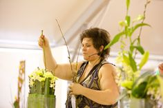 Demonstrations at Ergon Energy Flower Food and Wine Festival 2012.