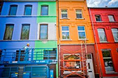 AkzoNobel - paint the ugliest towns in the world, Couleurs Carolo, Charleroi