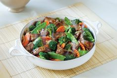 Sesame Ginger Beef and Broccoli Stir-fry