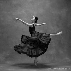 """Misa Kuranga, Principal dancer, Boston Ballet Skirt by Leanne Marshall.  Hair and makeup by Juliet Jane.  @misakuranaga @bostonballet @nycdanceproject…"""
