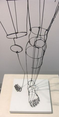 Diane Komater | Wire Sculptures