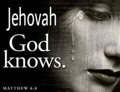 He knows whatever our tribulation is.....when we hurt, He hurts.... He sees our motives, he hears our words and knows our actions, from Him we can't hide our lies or cover over our deceit ! He knows !!!